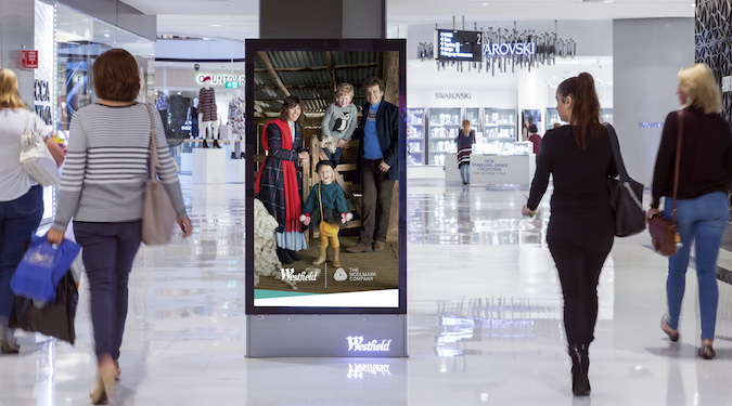 A Digital LED Display At A Grand Shopping Mall About Westfield - Online Shopping Centre.